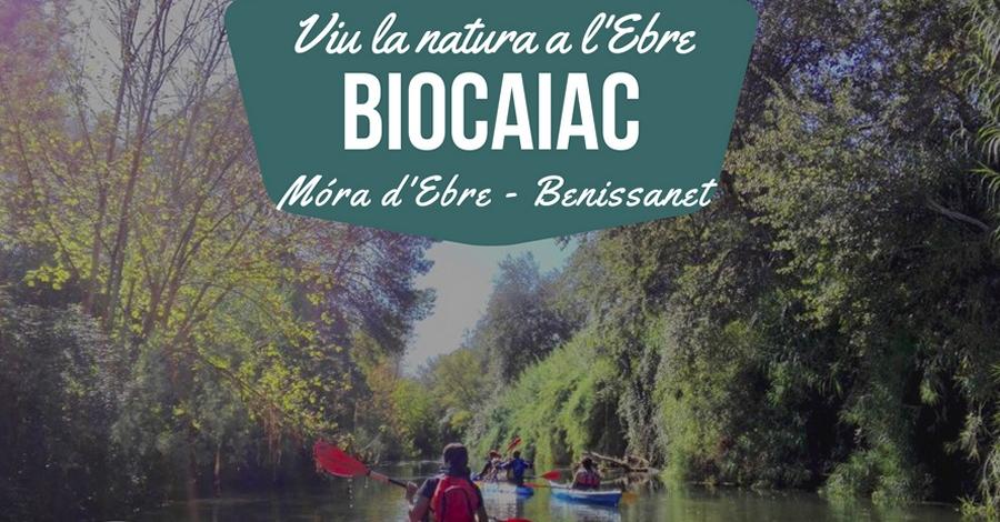 Biocaiac al riu Ebre