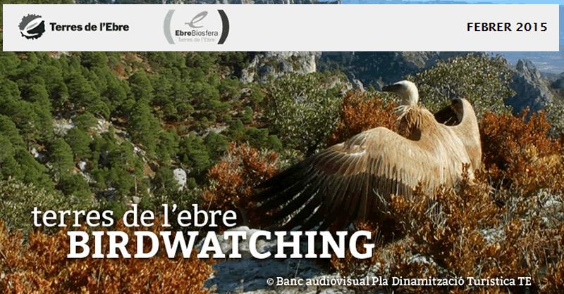 """Publicada l'edició febrer de 2015 del """"Birdwatching Terres de l'Ebre"""""""