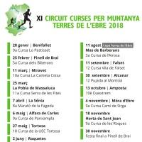 Festa de cloenda dels circuits de curses per muntanya i canicròs de les Terres de l