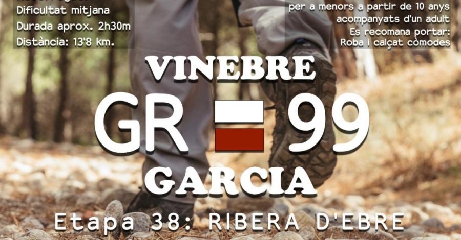Caminada popular GR-99 Vinebre-Garcia