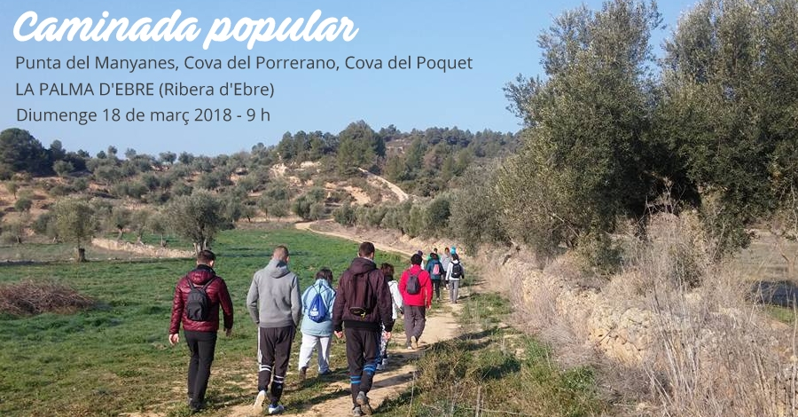 Caminada popular a la Palma d'Ebre