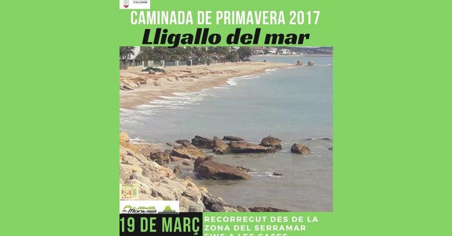 Caminada de primavera 2017 – Lligallo del mar