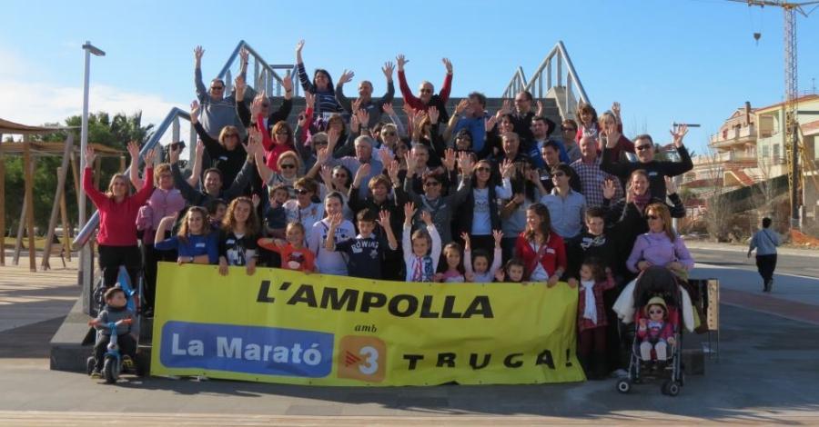Caminada solidària a favor de La Marató de TV3