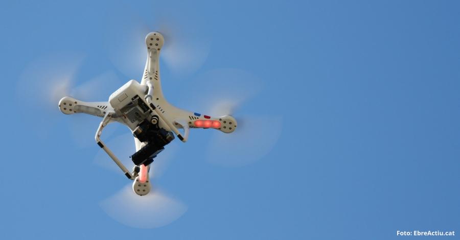 Campanya per difondre bones pràctiques en l'ús de drons en els parcs naturals de les Terres de l'Ebre