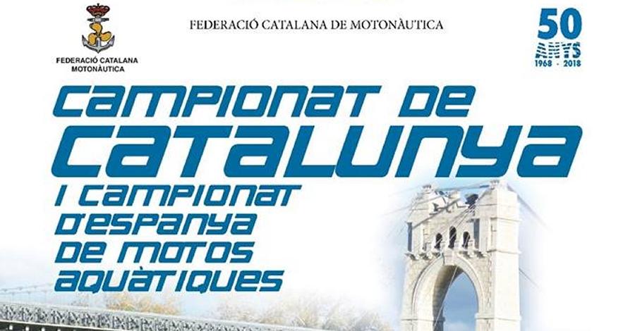 Campionat de Catalunya i Campionat d'Espanya de motos aquàtiques