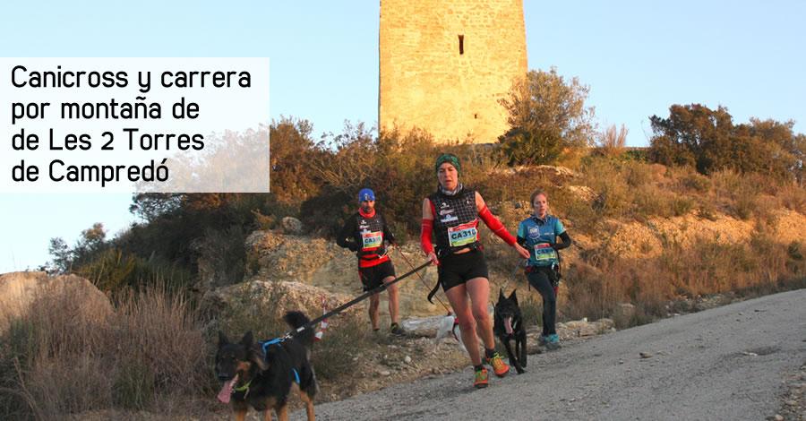 Canicros y carrera por montaña de «Les 2 Torres» de Campredó