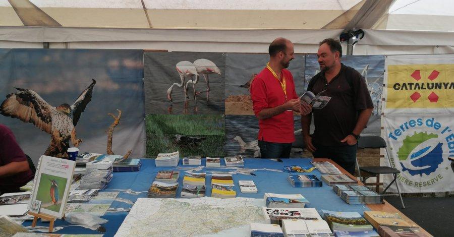 Catalunya participa a la fira Birdfair de Rutland per promocionar-se com a destinació de turisme ornitològic