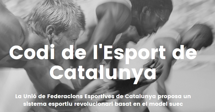 """Xerrada """"Codi de l'Esport de Catalunya"""""""