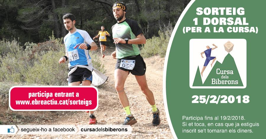 <p>Sorteig 1 dorsal per a la Cursa dels Biberons de Pinell de Brai del 25/2/2018</p>