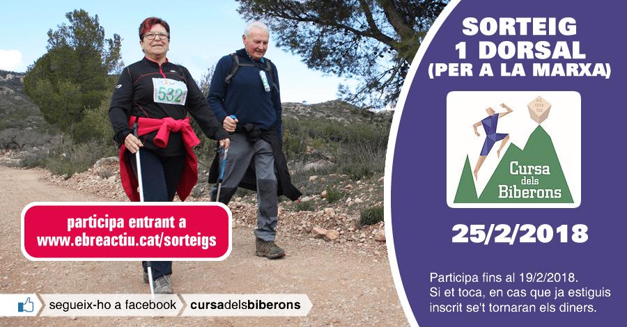 <p>Sorteig 1 dorsal per a la Marxa dels Biberons de Pinell de Brai del 25/2/2018</p>