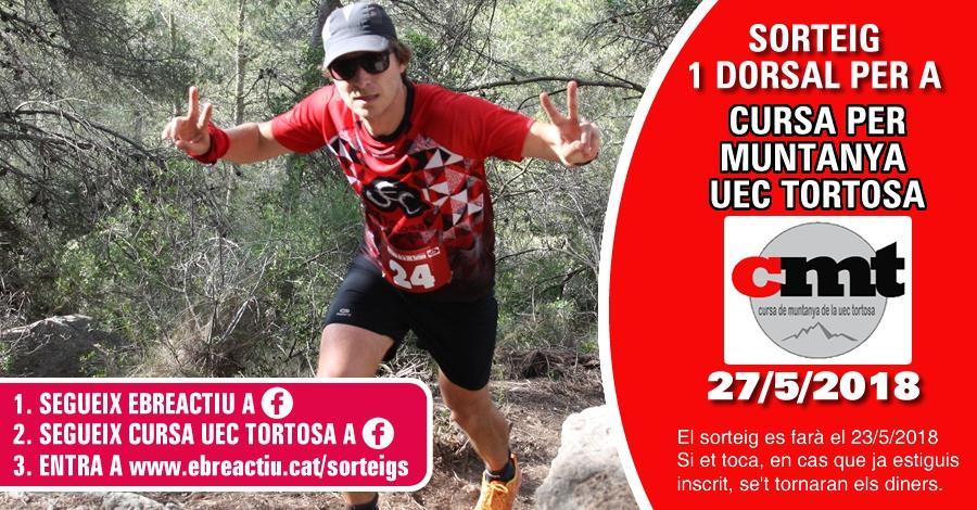 <p>Sorteig 1 dorsal per a 18a Cursa per Muntanya de la UEC Tortosa - 27/5/2018</p>