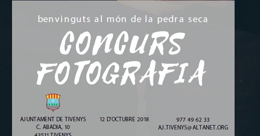 Entrega de premis del Concurs de fotografia de la pedra seca