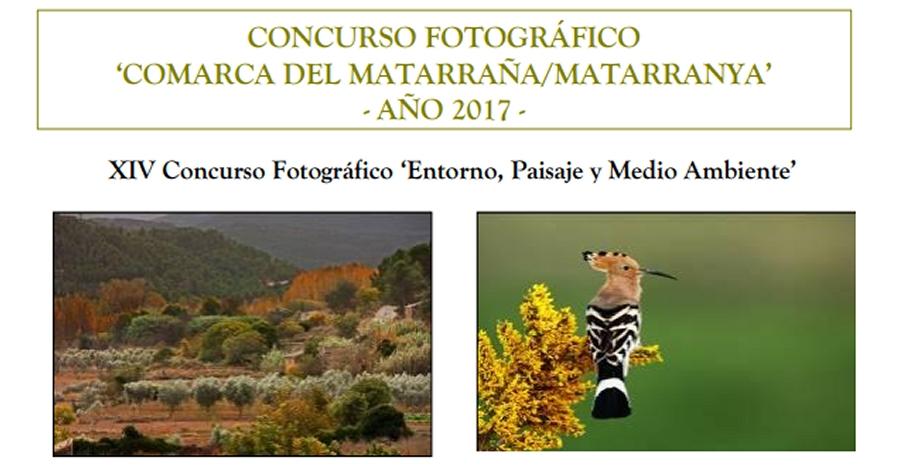 XIV Concurs fotogràfic «Entorn, paissatge i medi ambient». Matarranya