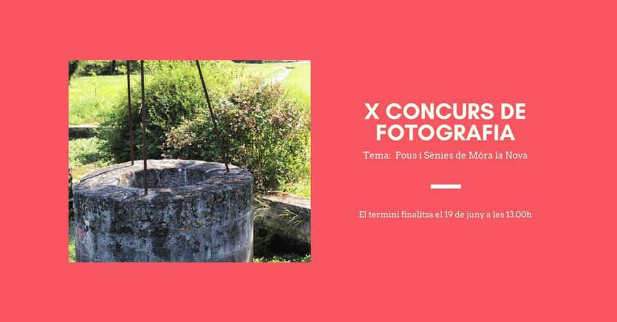 X Concurs de fotografia 2017 Móra la Nova