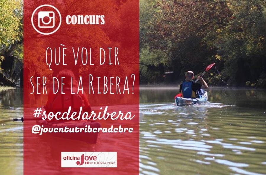 El Servei Comarcal de Joventut de la Ribera organitza un nou concurs a Instagram | EbreActiu.cat, revista digital per a la gent activa