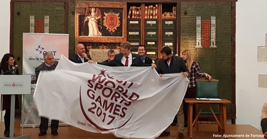 Constituïdes les subseus dels CSIT World Sport Games Tortosa 2019