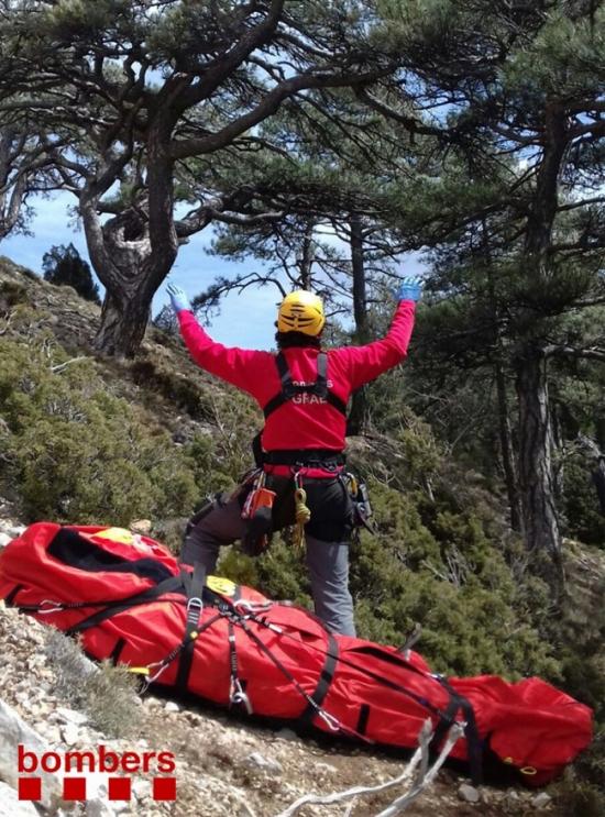 Rescaten un home que havia caigut a la Punta de l'Aigua mentre feia esport | EbreActiu.cat, revista digital per a la gent activa | Terres de l