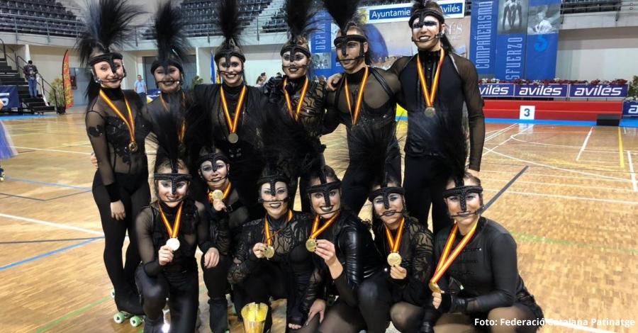 El CP L'Aldea, campió d'Espanya de grups de xou petits | EbreActiu.cat, revista digital per a la gent activa