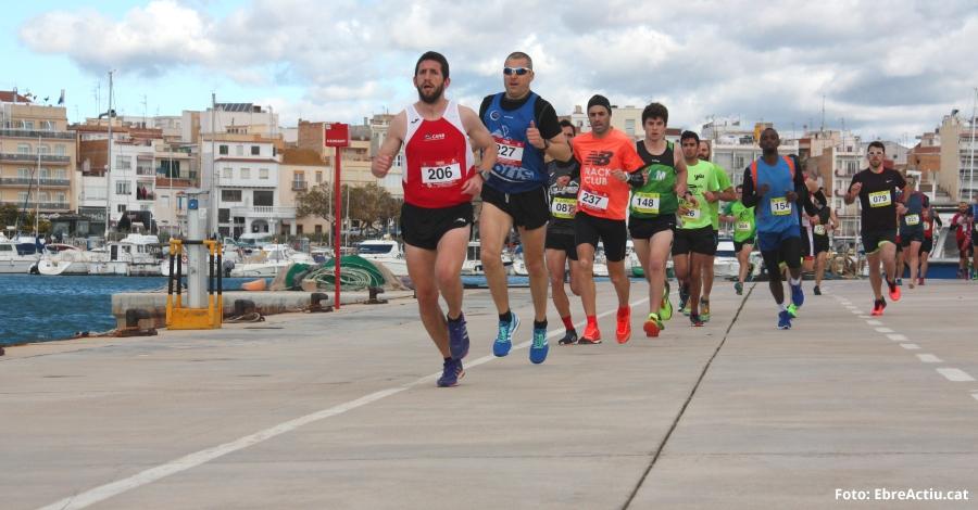 Jornada de running a l'Ampolla amb prop de 200 participants