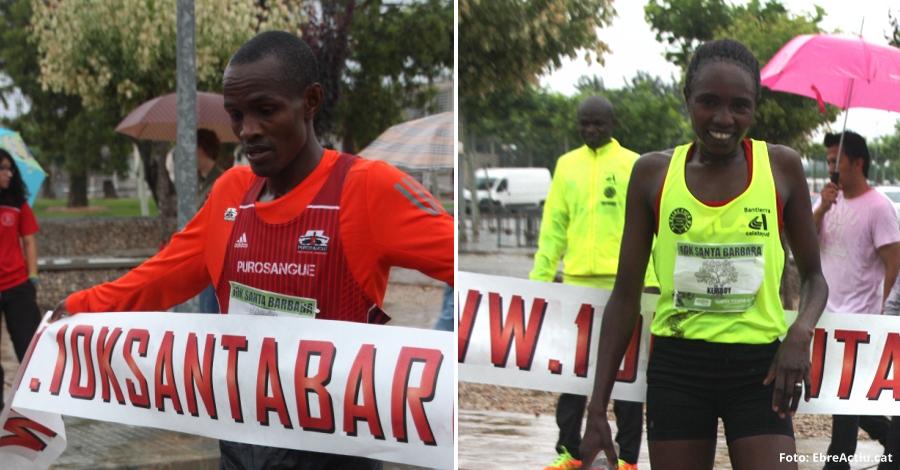 Els kenians Lkipkirui Langat i Gladys Kemboy guanyen els 10 k de Santa Bàrbara