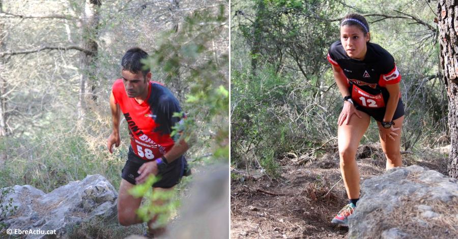 Lluisma Mas i Sandra Burgués guanyen la cursa per muntanya més veterana de les Terres de l´Ebre