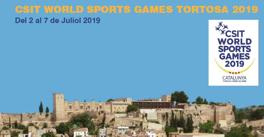 CSIT World Sports Games Tortosa - Terres de l'Ebre 2019