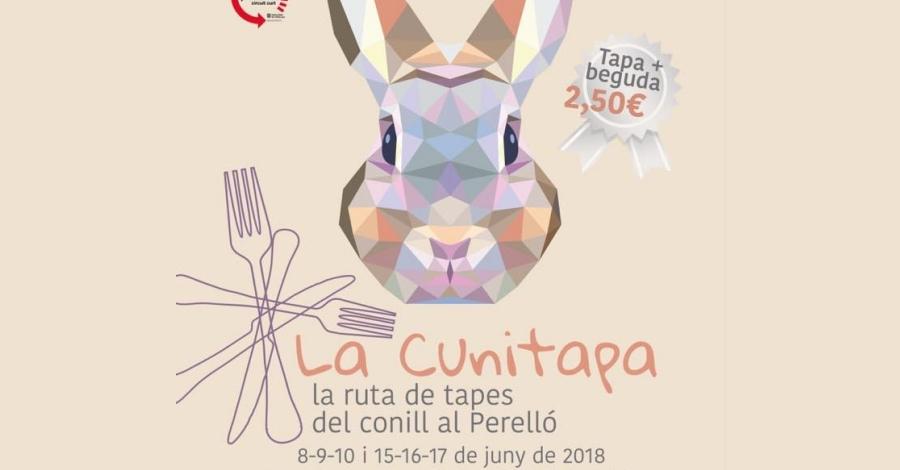 La Cunitapa, ruta de tapes del conill al Perelló