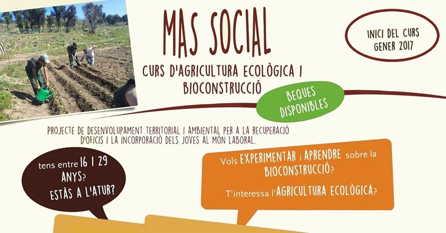 Curs d'agricultura ecològica i bioconstrucció