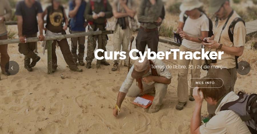 Curs Cyber Tracker a les Terres de l'Ebre