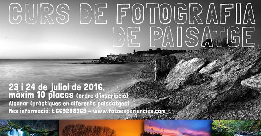 Curs de fotografia de paisatge