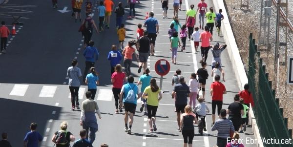 500 persones participen a la XVII Cursa Popular i XIII Caminada Ciutat de Tortosa