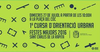 1a Cursa d�orientaci� urbana a Sant Carles de la R�pita