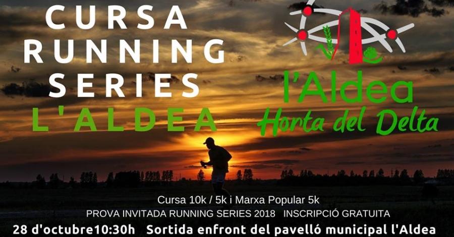 Cursa running de L'Aldea