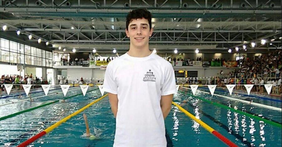 El nedador del Club Natació Amposta, David Bermejo, es fa amb el rècord nacional de 16 anys en la prova de 50 metres braça