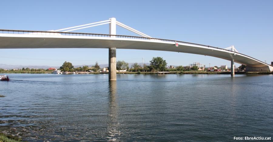 Deltebre proposa una nova àrea turística, fluvial i de lleure al voltant del pont Lo Passador