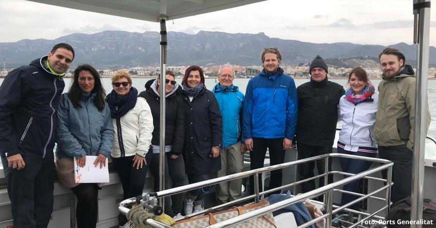 """Delta Ebre Port organitza a la Ràpita el primer """"fam trip"""" de xàrters nàutics amb operadors i periodistes alemanys"""