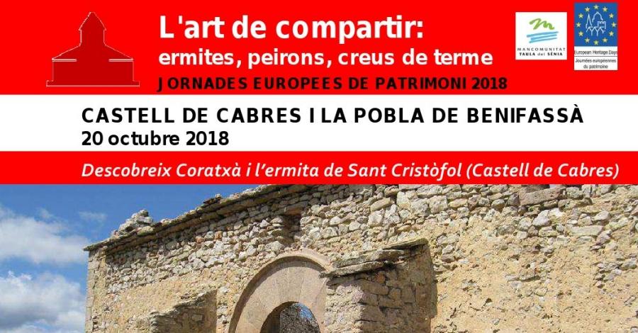 Descobreix Coratxà i l'ermita de Sant Cristòfol de Castell de Cabres