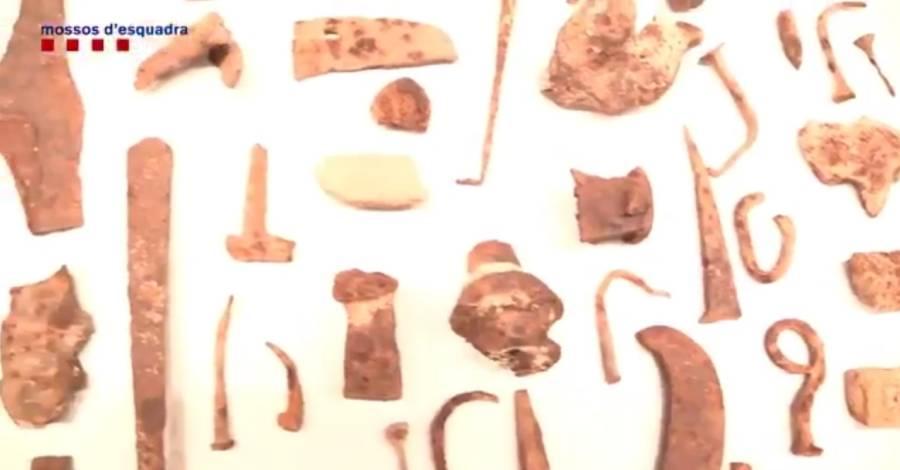 Els Mossos detenen un home per robar peces arqueològiques al jaciment ibèric d'Ulldecona