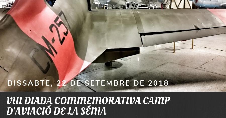 VIII Diada commemorativa Camp d'Aviació de la Sénia