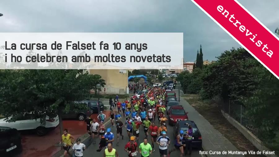 La cursa de Falset fa 10 anys i ho celebren amb moltes novetats | EbreActiu.cat, revista digital per a la gent activa