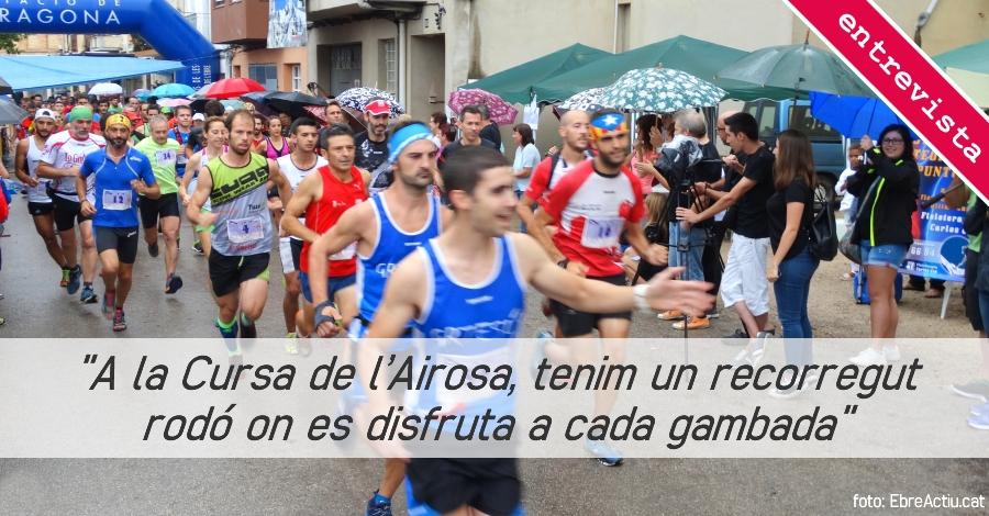 """""""A la Cursa de l'Airosa, tenim un recorregut rodó on es disfruta a cada gambada"""""""