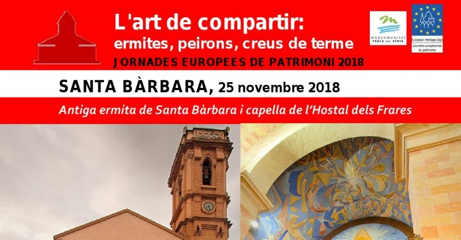 Antiga ermita de Santa Bàrbara i capella de l'Hostal dels Frares