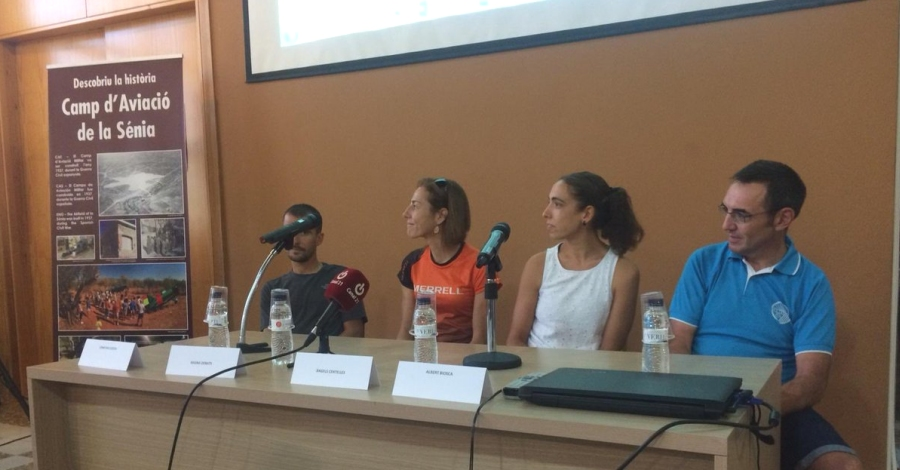Es presenta a La Sénia el projecte The Trail Zona Els Ports-Tinença