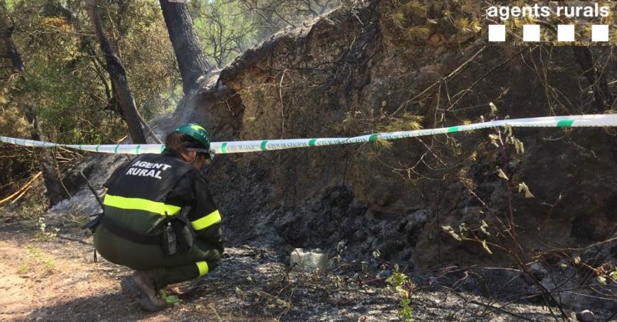 Estabilitzat l'incendi forestal de Tivissa