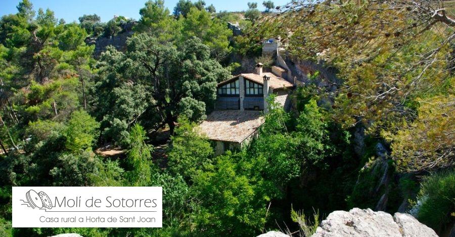 El Molí de Sotorres, pau, tranquil·litat i bellesa a Horta de Sant Joan