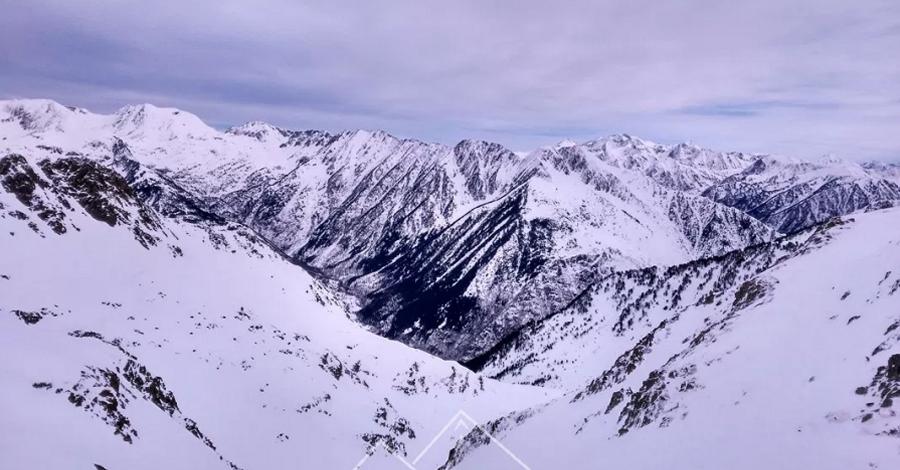 Raquetes de neu a la Vall de Tavascan