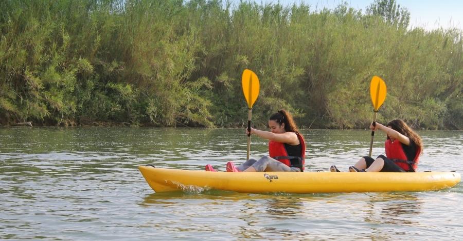 Explorant el Delta amb Riu a l'Ebre