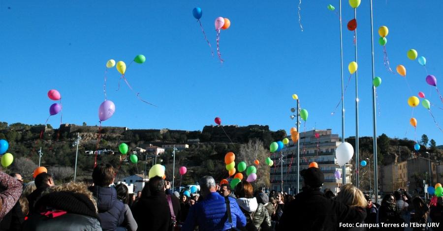 Èxit de participació en la caminada solidària del campus Terres de l'Ebre en benefici de la Marató de TV3