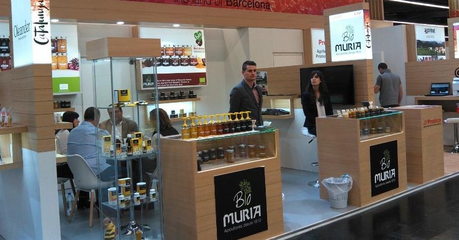 Èxit de Bio Muria, la gamma de productes ecològics de Muria, a BioFach 2017