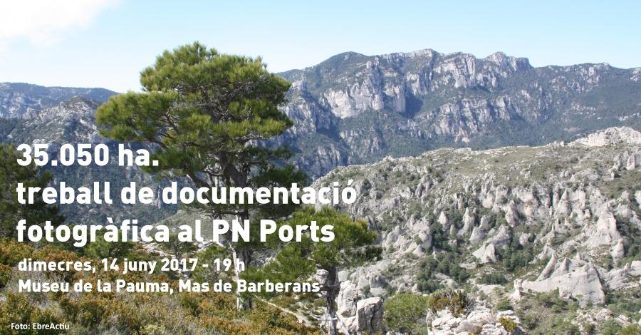 35.050 ha. Treball de documentació fotogràfica al PN Ports